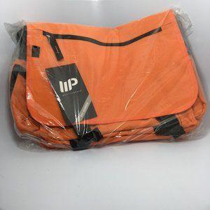 Western Pack Orange Messenger Bag Multi-pocket